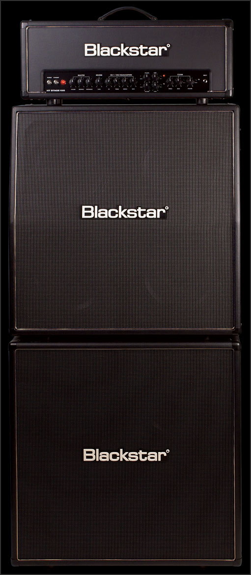 Blackstar HT Stage 100 Head Ht-stage-100-full-stack